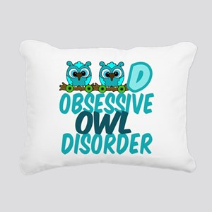 Pretty Owl Rectangular Canvas Pillow